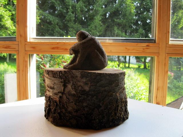 Unikat Keramik Ton Skulptur Kunst