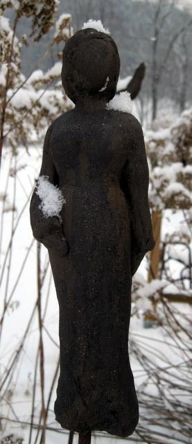 Skulptur Figur Gartenkeramik Handarbeit Keramik Unikat
